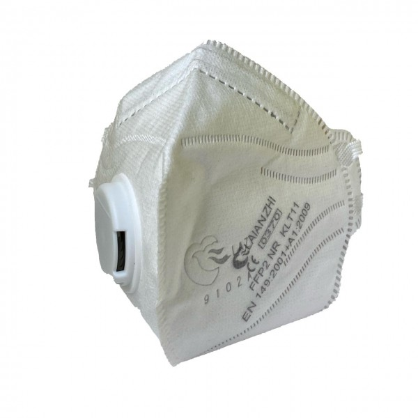 Premium FFP2 NR Falt- Feinstaubmaske, mit Ventil Laianzhi