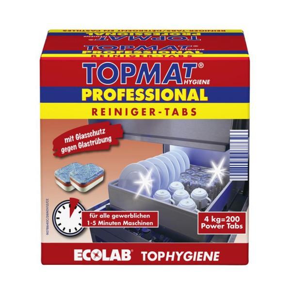 TOPMAT Professional Reiniger-Tabs 200 Stück